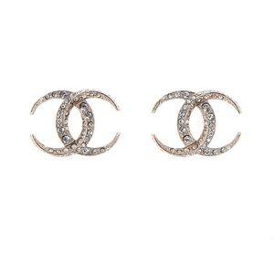 🇺🇸Authentic Chanel Earrings Dubai Moon CC🇺🇸